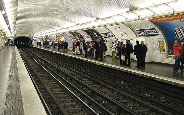 Robespierre train station in Montreuil, an eastern suburb of Paris (Cramos/ Wikimedia Commons Creative Commons BY-SA 3.0)