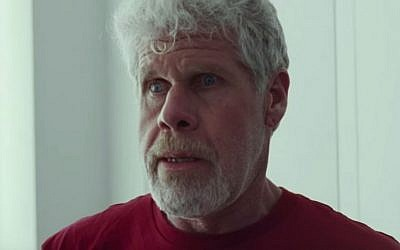 Ron Perlman plays vigilante Judge Pernell Harris in 'The Hand of God.' (YouTube screenshot)