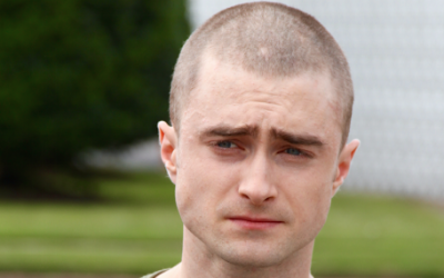 Actor Daniel Radcliffe of 'Harry Potter' fame cuts his hair for a new role as an FBI undercover agent infiltrating a neo-Nazi group. (screen capture: Radcliffe's Google+ page)