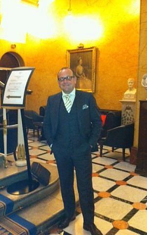 Daddy of UK-based French Jewry, Simon Tobelem (courtesy)