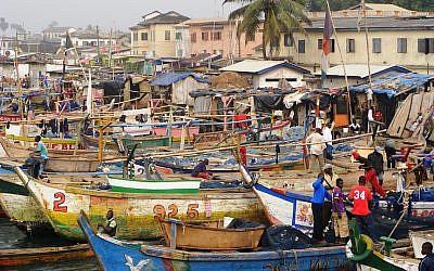 Fishermen in Ghana (Pexels)