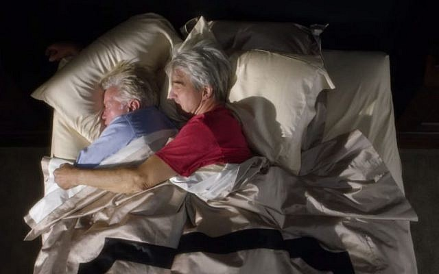 The leading men of 'Grace and Frankie,' law partners who come out as longtime homosexual lovers, are portrayed by Martin Sheen as Robert Hansen, Grace's husband, and Sam Waterston as Sol Bergstein, Frankie's spouse. (YouTube screenshot)