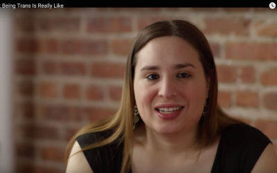 YouTube screenshot from a video about Hanna Simpson, 'What Being Trans is Really Like'