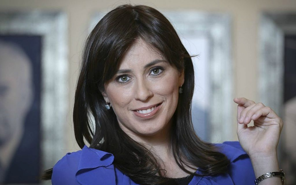Tzipi Hotovely in the Knesset, July 7, 2014 (Hadas Parush/Flash90)