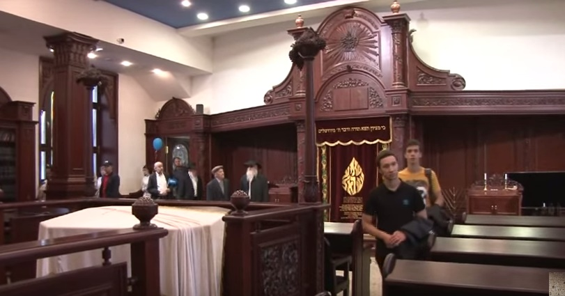 Kazan synagogue, Russia (YouTube screenshot)