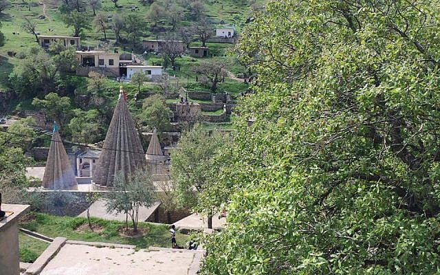 A view of Lalish, a holy pilgrimage site for Yazidis (Photo Facebook)