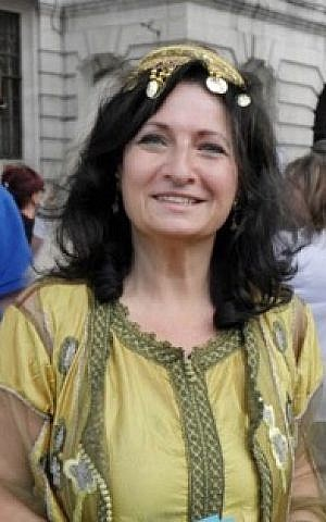 Michelle Huberman is the creative director of Harif, the Sephardi charity in the UK which is running a survey about French Jews (courtesy)