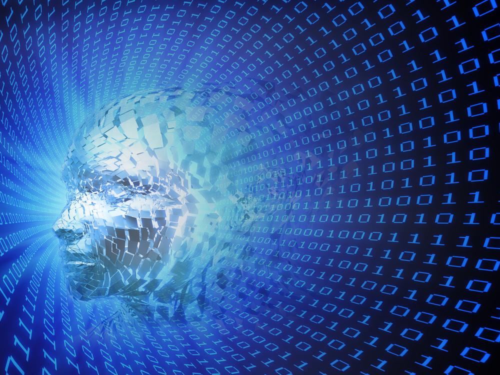 (artificial intelligence concept image via Shutterstock)