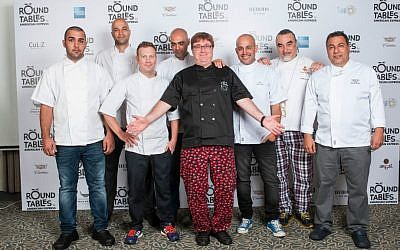 Israeli chefs gather last month for the start of Round Tables (Courtesy: Round Tables)