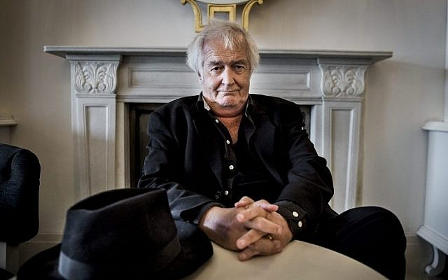 A photo taken on June 1, 2015, of Swedish author Henning Mankell, who died overnight at the age of 67. (AFP PHOTO/TT NEWS AGENCY/NORA LOREK)