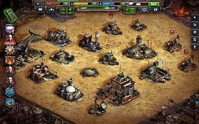 A screenshot of Plarium's popular Soldiers Inc. on Facebook (Courtesy)
