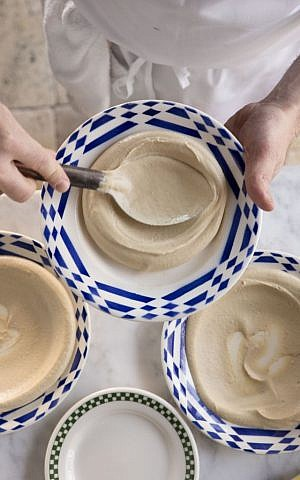 Chef Michael Solomonov's Hummus tehina. (Michael Persico)