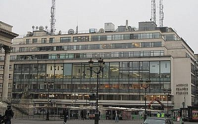Illustrative: The Agence France Presse building in Paris. (Public Domain/Wikimedia Commons)