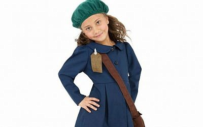 Found on eBay, a '1940s World War II Girls Period Anne Frank Fancy Dress Costume.' (courtesy)