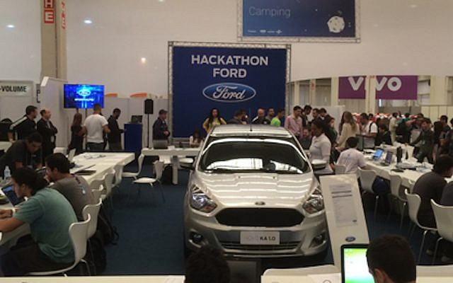 A Ford Hackathon in Brazil, February 5, 2015 (Courtesy)
