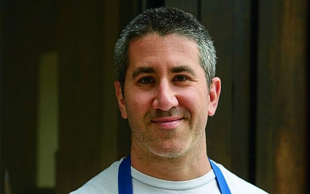 Co-owner of Philadelphia's acclaimed Zahav restaurant, chef Michael Solomonov (courtesy Michael Persico)