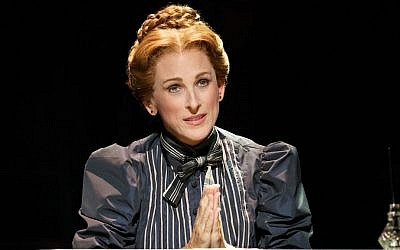Academy Award winner Marlee Matlin stars in the Deaf West Theater's production of 'Spring Awakening' on Broadway. (Joan Marcus via JTA)