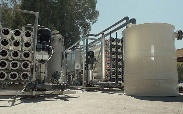 Desalitech's ReFlex reverse osmosis systems treats water sources around the world using less energy and producing less waste than most competitors' systems. (courtesy)