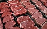 Steaks and other beef products are displayed for sale at a grocery store in McLean, Va. (AP Photo/J. Scott Applewhite, File)