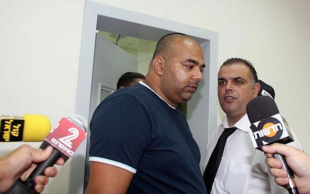Shalom Domrani seen in a Rishon Letzion court in August, 2011. (Gideon Markowicz/FLASH90)