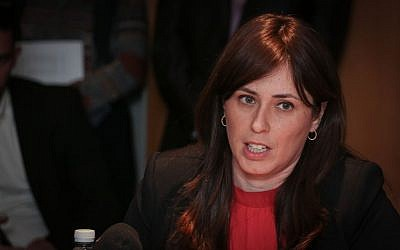 Deputy Foreign Minister Tzipi Hotovely at the Foreign Ministry in Jerusalem, July 21, 2015. (Hadas Parush/Flash90)