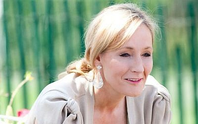 British author J. K. Rowling in 2010 (Daniel Ogren CC BY-SA Wikimedia Commons)
