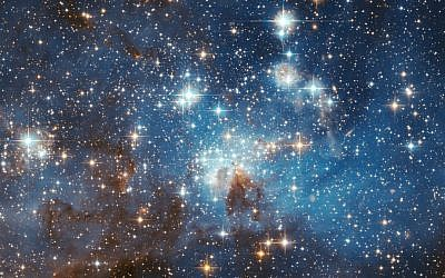 LH 95 stellar nursery in the Large Magellanic Cloud. (NASA/HubbleSite/public domain)