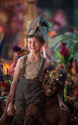 Levi Miller as Peter in Warner Bros. Pictures' and RatPac-Dune Entertainment's action adventure 'Pan,' a Warner Bros. Pictures release. (Laurie Sparham)