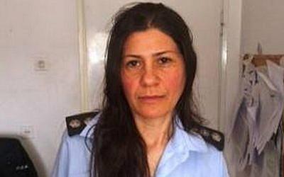 Police spokeswoman Luba Samri (Facebook)