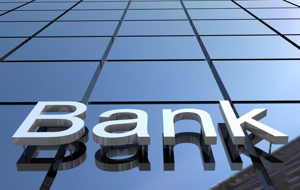 (bank image via Shutterstock)