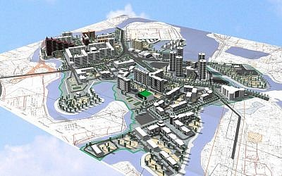 A rendered 3D image map  (Courtesy Pixtier)