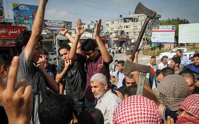 Palestinians open fire at IDF vehicle near Gaza | The Times