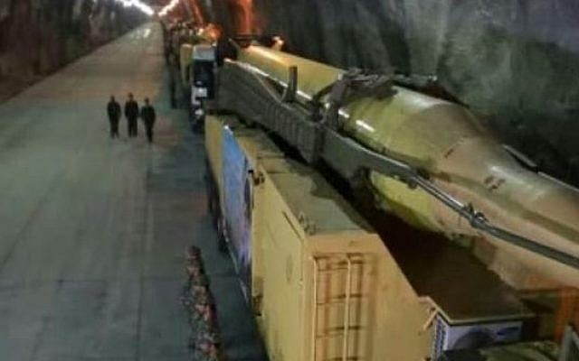 Iran builds third underground missile plant - report | The Times of