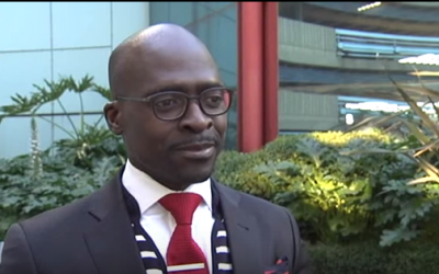 South African Home Affairs Minister Malusi Gigaba (screen capture: YouTube)