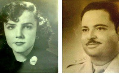 Mark Halawa's story begins when his grandmother Rowaida, born a Jew in Jerusalem in 1930s British Mandate Palestine, met and fell in love with his grandfather, a Jordanian army soldier named Muhammad al-Masri from Nablus (courtesy)