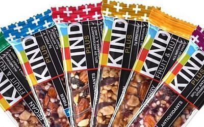 An array of Kind bars (courtesy)