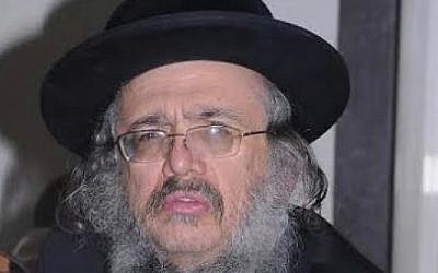 File photo of Yeshayahu Kirshavski, 60, who was killed in a car ramming attack in Jerusalem on October 13, 2015 (Courtesy image)
