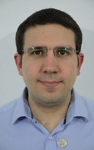 Meni Rosenfeld (Photo credit: Israel Bitcoin Association)