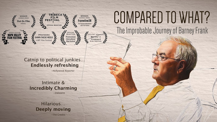 Ad for new Showtime documentary about Barney Frank, to premiere on October 23, 2015 (courtesy)