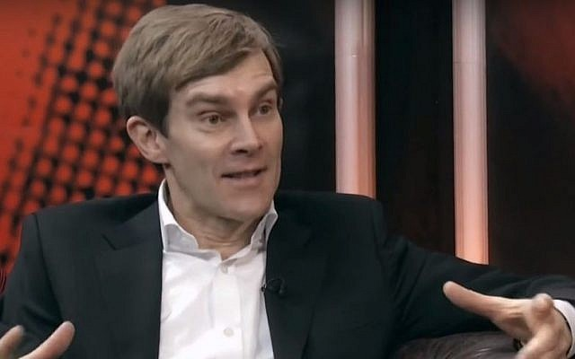 Seumas Milne, Strategy and Communications Director to Labour leader Jeremy Corbyn (YouTube screen capture)