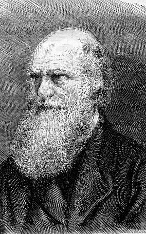 (Charles Darwin image via Shutterstock)