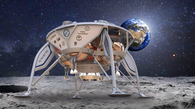Israel to launch a mission spacecraft to the Moon