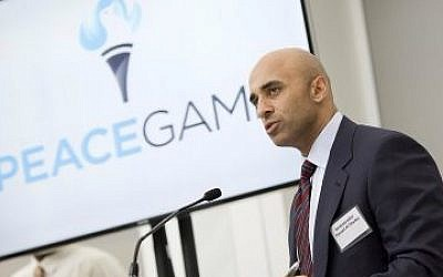 UAE ambassador in Washington Yousef al-Otaiba, September 18, 2014. (UAE embassy website)