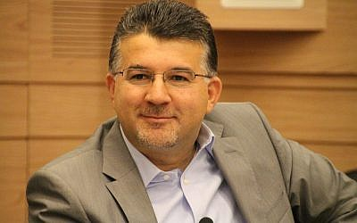 Israeli Knesset member Youssef T, Jabareen (Facebook)