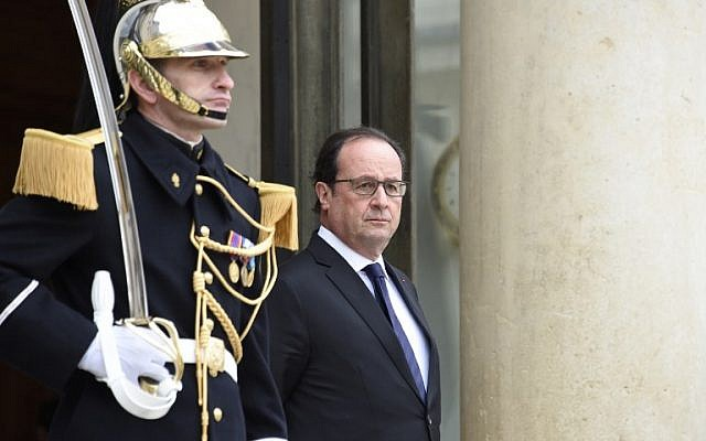 French President Francois Hollande. (AFP/Dominique Faget)