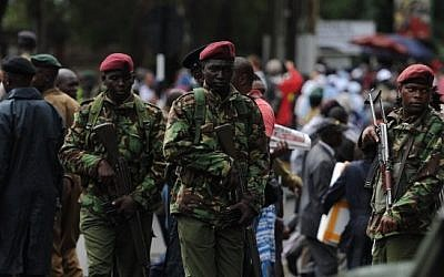 Illustrative photo of Kenyan security forces. November 26, 2015. (AFP/John Muchucha)