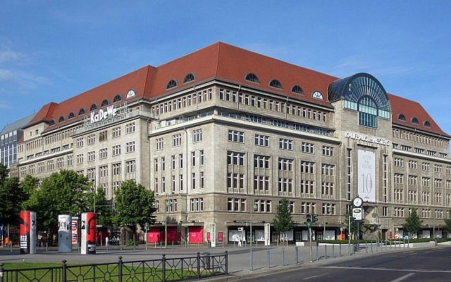 KaDeWe, Germany's largest department store, Berlin (Wikimedia Commons, CC BY-SA 3.0, Beek100)