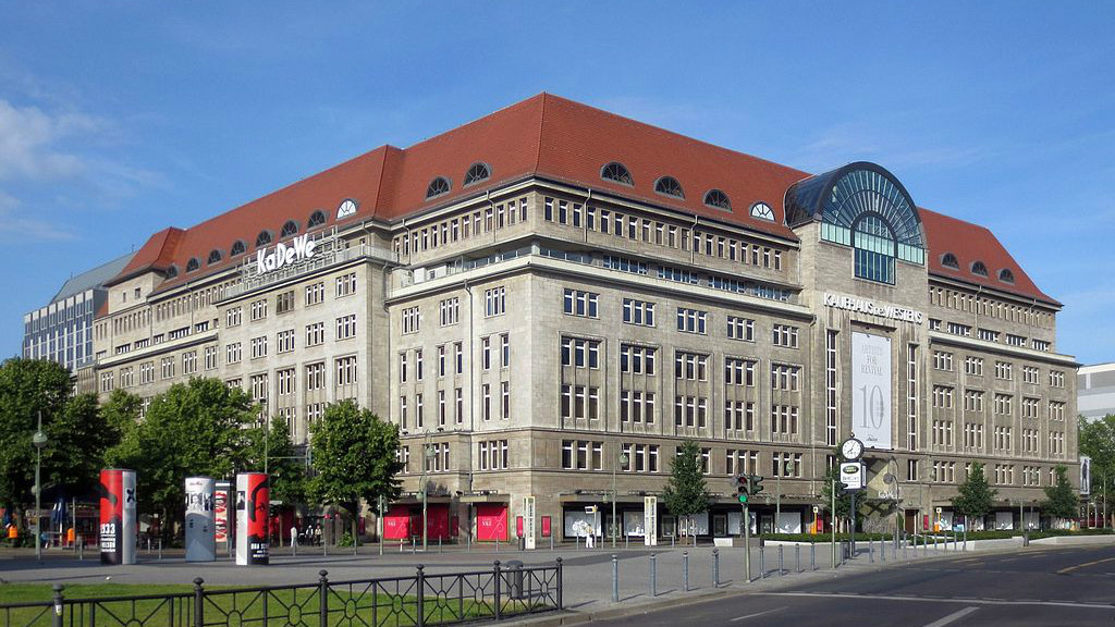 in berlin europe 39 s biggest department store takes settlement goods off shelves the times of. Black Bedroom Furniture Sets. Home Design Ideas