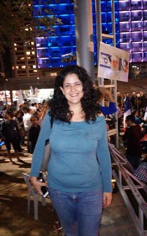 Michal Beit Halachmi (Simona Weinglass/Times of Israel)