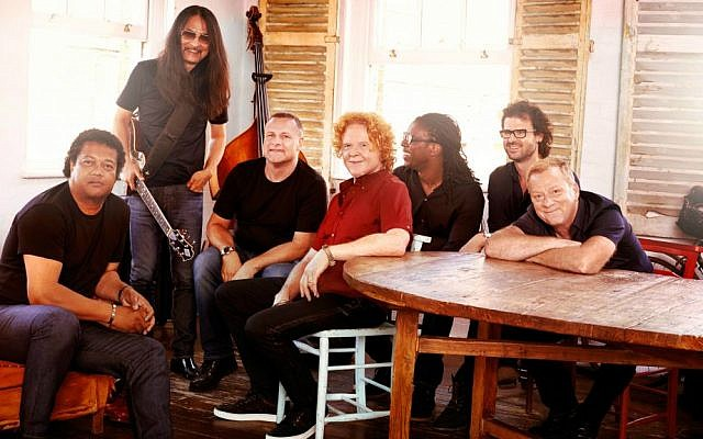 Mick Hucknall and the latest version of Simply Red, who will perform in Tel Aviv in June (Courtesy Simply Red)
